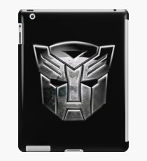a cool silver robots iPad Case/Skin