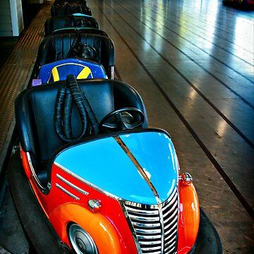 bumper cars by Maggierda