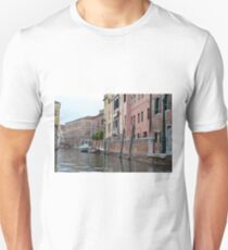 Buildings near canal in Venice, Italy  T-Shirt