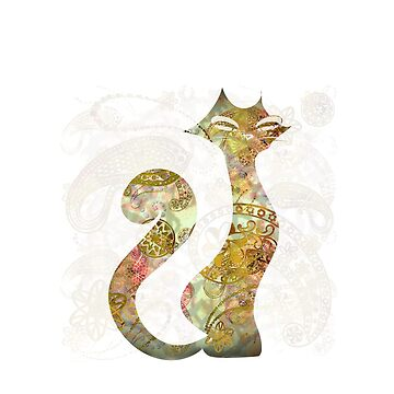 The Tattoo Cats -  Ivory and GoldTattoo by DreaMground