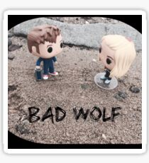 Doctor Who, Bad Wolf. Sticker