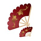 Geisha& Japanese fan(15503  views) by aldona