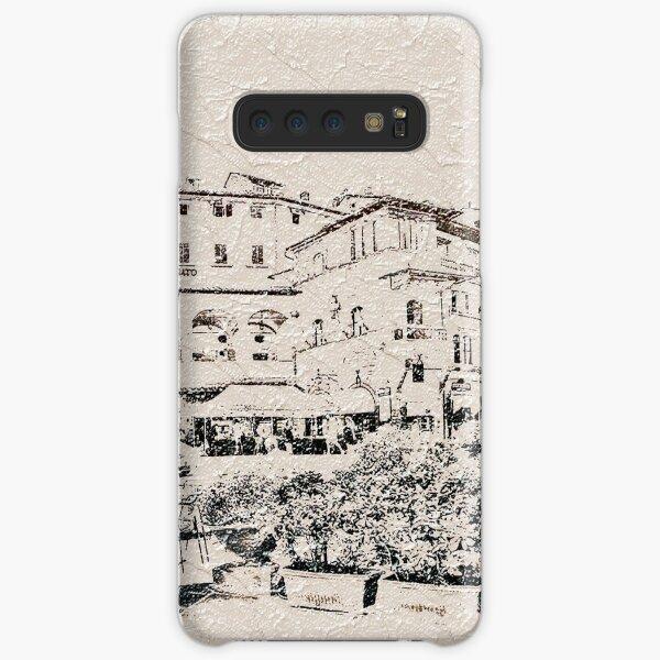 Italy.Tuscany. Cortona. texture Samsung Galaxy Snap Case