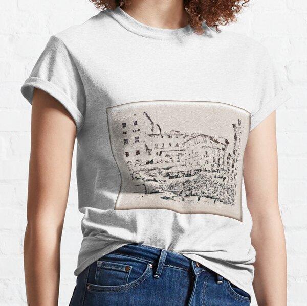Italy.Tuscany. Cortona. texture Classic T-Shirt