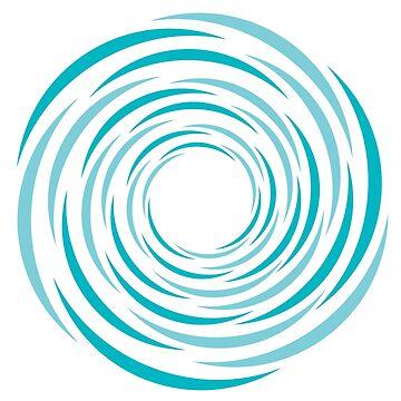Blue Spiral by mongja9