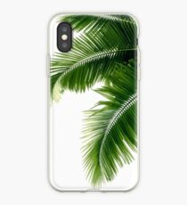 Tropical Palm Leaves iPhone Case