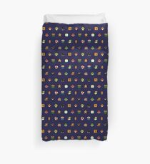Mario Pattern Duvet Cover