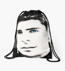 Zac Efron Drawstring Bag