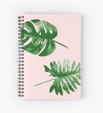 Monstera  Spiral Notebook