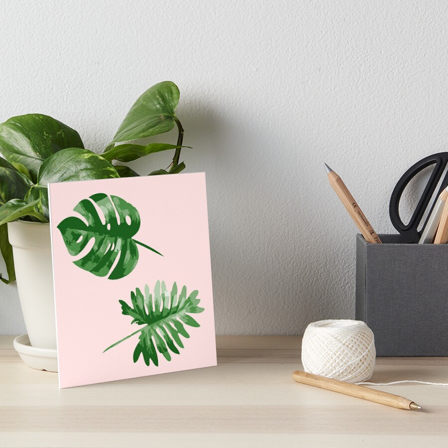 Monstera  Art Board Print