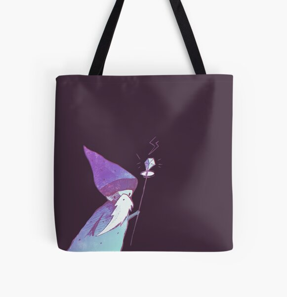 Wizard All Over Print Tote Bag