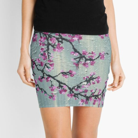 A Touch Of Spring Mini Skirt
