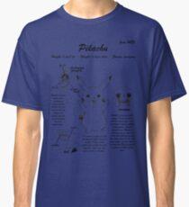 Pikachu anatomy Classic T-Shirt