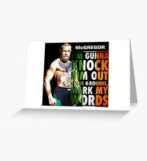 mcgregor Greeting Card