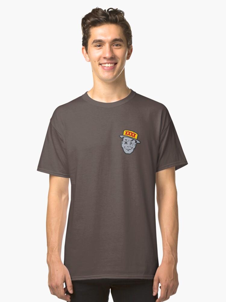 Mr Four XXXX Classic T-Shirt Front