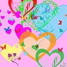 Hearts by Antonio  Luppino