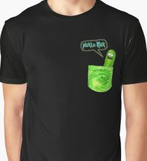 Pickle rick pocket Graphic T-Shirt