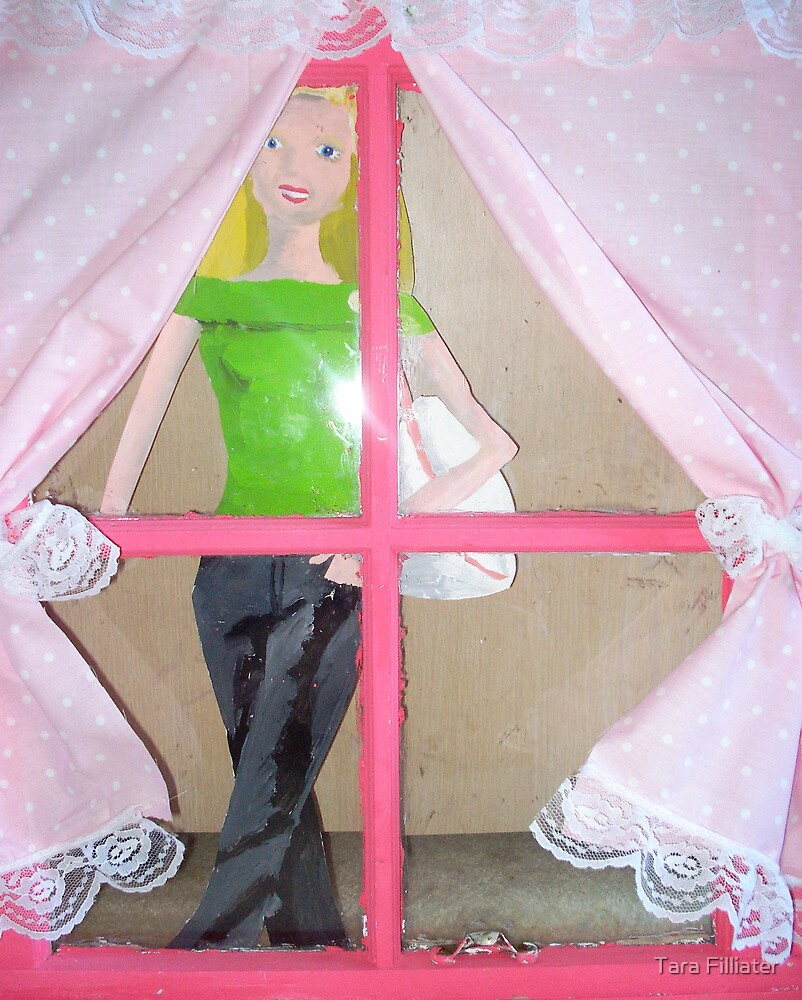 Spying Barbie by Tara Filliater