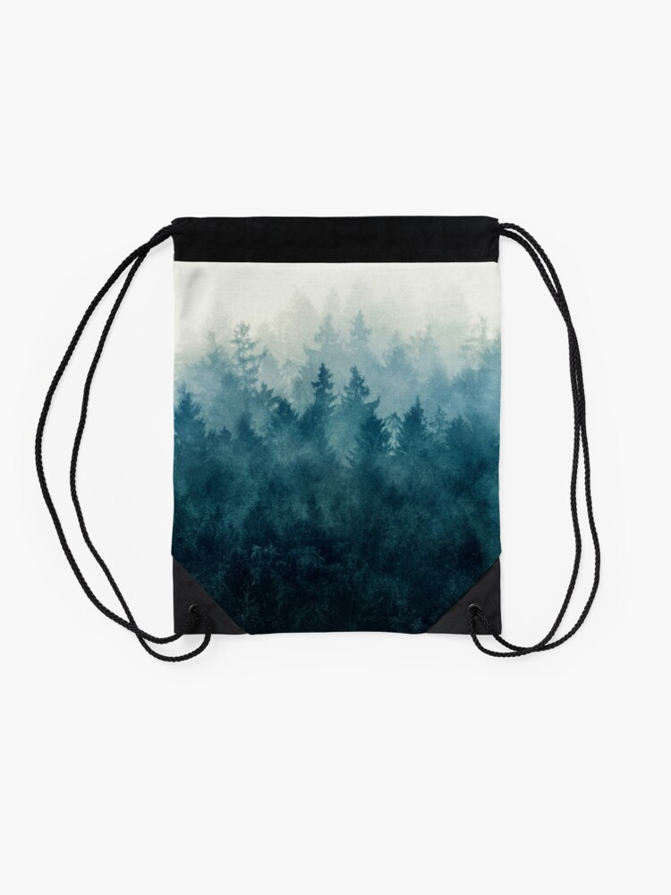 Alternate view of The Heart Of My Heart // So Far From Home Edit Drawstring Bag