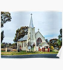 st james church greenethorpe nsw Poster