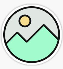 ICY MOUNTAINS stickers Sticker