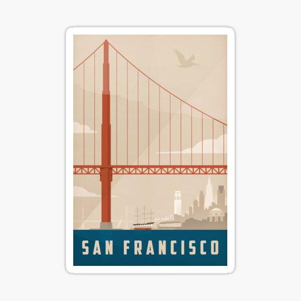 San Francisco Creme Sticker