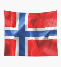 Norway Flag Wall Tapestry