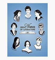 Great Women of Literature Photographic Print