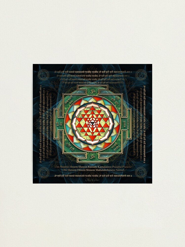 Quot Maha Lakshmi Laxmi Mantra Amp Shri Yantra Wealth Giving