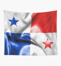 Panama Flag Wall Tapestry