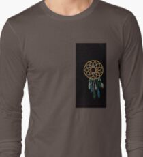 simple dream catcher black T-Shirt