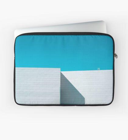 Weißes Gebäude Laptoptasche