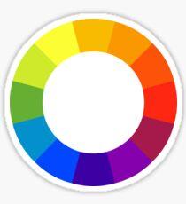 Pantone color wheel Sticker