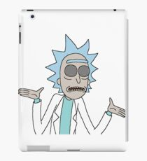 Trippy Rick iPad Case/Skin