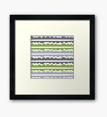 Mordidas Greenery  Framed Print