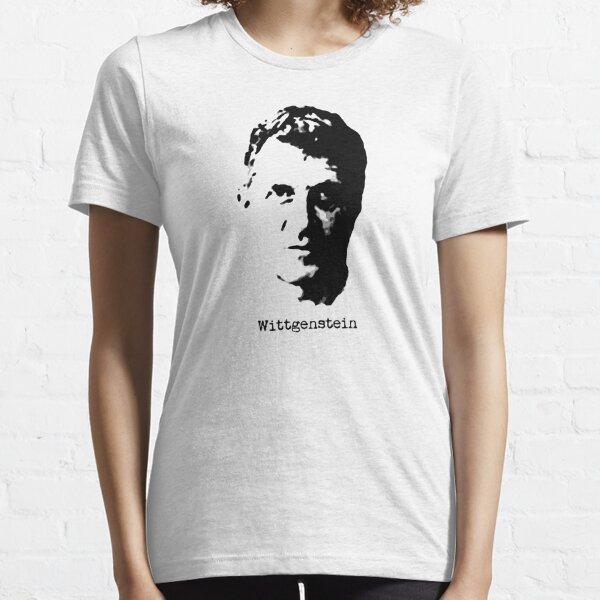 Ludwig Wittgenstein philosopher t shirt Essential T-Shirt