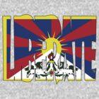 Free Tibet by Zack Nichols