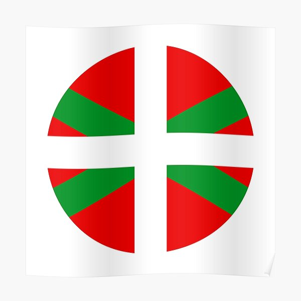 Basque Country, Pays Basque Poster