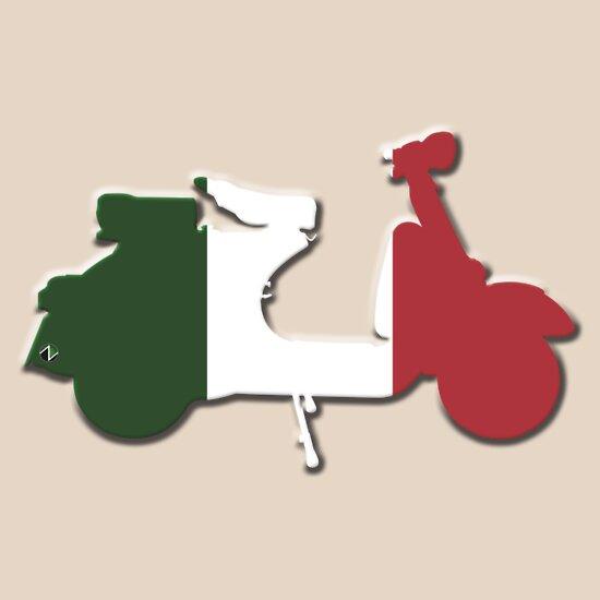 TShirtGifter presents: Vespa Italia