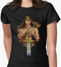 The Barbarian Women's Fitted T-Shirt