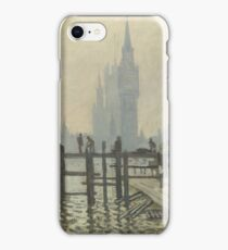 The Thames below Westminster 1871 Claude Monet iPhone Case/Skin