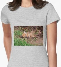 Fox Kit 9 Womens Fitted T-Shirt