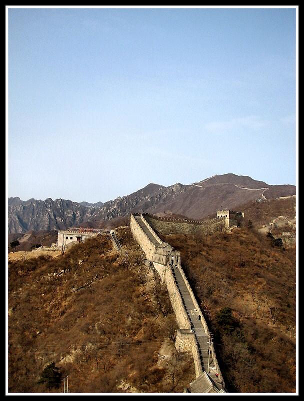 Great Wall Of China by Matthew C