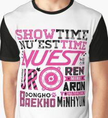 NU'EST Font Collage Graphic T-Shirt