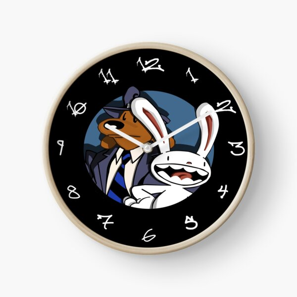 Sam and Max Clock