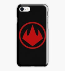 Logo Foot Tortues Ninja 2003 iPhone Case/Skin
