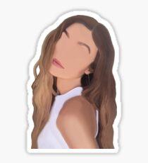 Gigi Hadid Minimalist Sticker