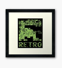 E.T. Retro Framed Print