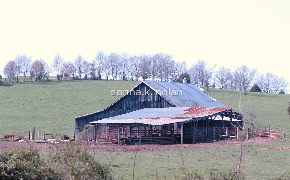 barn in Kentucky by donna.k. nolan