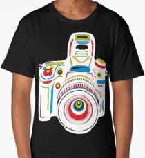 Rainbow Camera Fun Long T-Shirt
